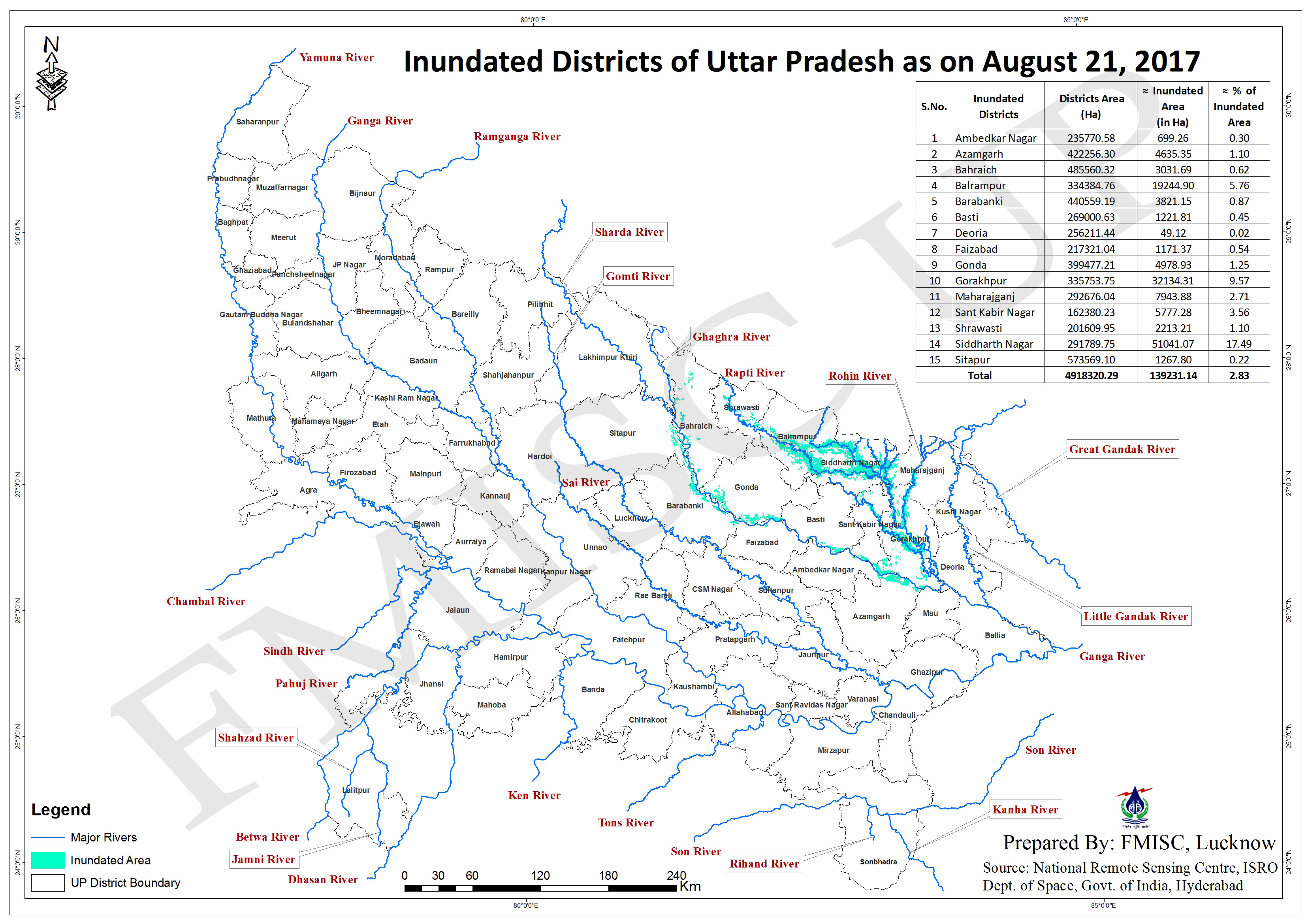 Inundation Map